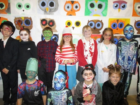 Halloween at Scoil Bhríde