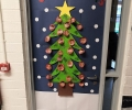 Christmas Doors at Scoil Bhríde